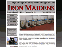 Tablet Preview of ironmaidens.co.uk